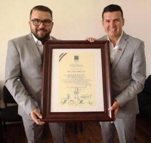 Banda El Recodo Recibe Reconocimiento en Camara de Diputados Federal 2019 2