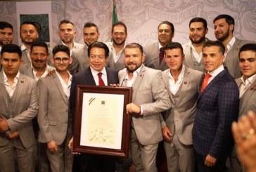 Merecido Reconocimiento a la Banda de El Recodo por parte de la Cámara Federal de Diputados