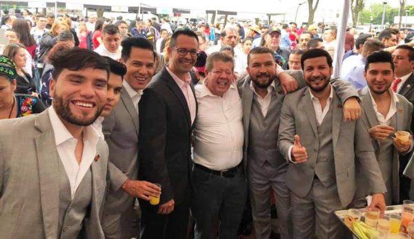 Banda El Recodo Recibe Reconocimiento en Camara de Diputados Federal 2019 4