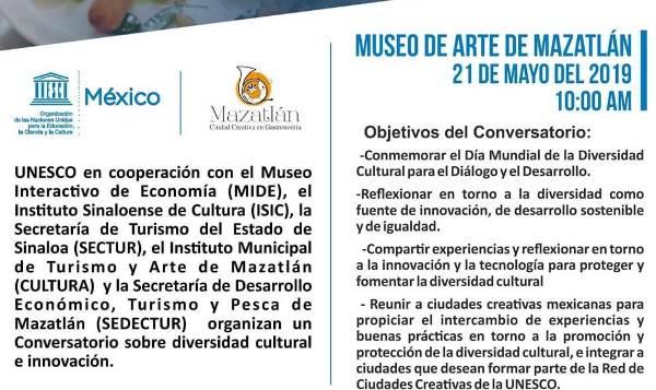 Conservatorio UNESCO Mazatlán Mayo 2019 Invitación a