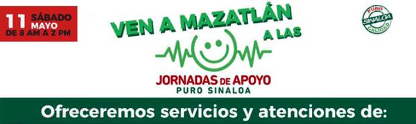 Jornada de Apoyo Puro Sinaloa Sector Turístico Mayo 11 2019 Mazatlán a