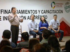 Microcrèditos, Javier Lizárraga Mercado Entrega Mipymes SInaloa Mayo 2019 1