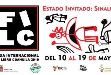 Listo Sinaloa para asistir a la 22ª Feria Internacional del Libro de Coahuila