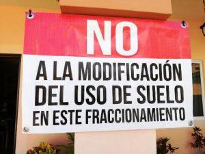 Protesta Colonos El DOrado Gaviotas Mazatlán Sinaloa México Zona Trópico 2019 5