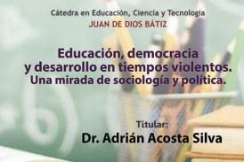 El Colegio Sinaloa convoca a cátedra magistral sobre Educación y Democracia