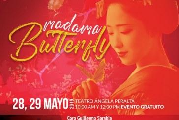 Madame Buterfly por primera vez en Mazatlán será presentada como autosuficiente.