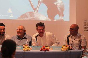Óscar Pérez Barros Secretario Turismo Sinaloa Foro UNESCO Mazatlán Inauguración 2019