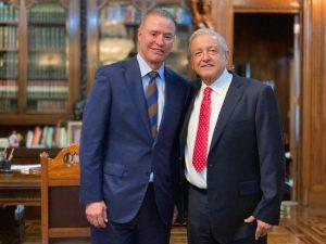 AMLO refrenda a Quirino respaldo en proyectos que detonarán a Sinaloa