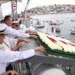 Encabeza Quirino el Día de la Marina 2019 en Topolobampo