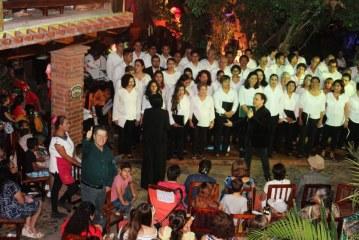De Lujo el Concierto de Adán Pérez y El Coro Ángela Peralta en El Quelite
