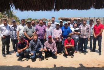 Se reune Instituto Sinaloense de Acuacultura y Pesca con productores de ostión