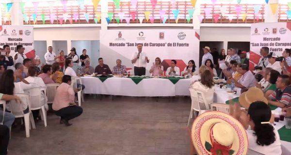 Mercado San Juan de Carapoa El Fuerte Pueblo Mágico Junio de 2019 4