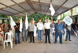 Realizan banderazo de obra en Pánuco