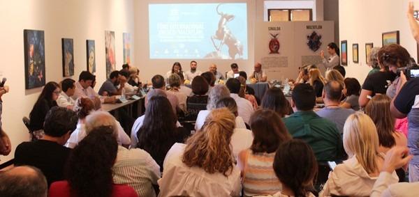 """Esta mañana, en las instalaciones del Museo de Arte de Mazatlán, fue inaugurado el Foro Internacional UNESCO/Mazatlán: """"Creatividad y Turismo Cultural para el Desarrollo Urbano Sustentable"""", mismo que e parte de la agenda de Mazatlán con miras a su candidatura y eventual designación como ciudad Creativa en Gastronomía de la UNESCO."""