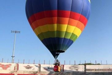 Globo Sky Colors llenó de color el cielo porteño