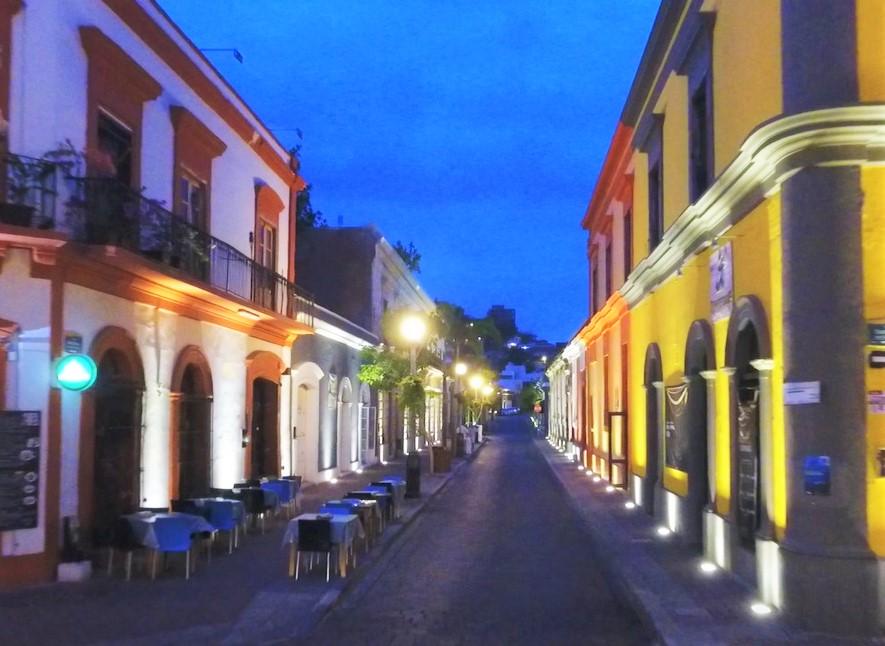 Calle Niños Héroes Centro Histórico Mazatlán Verano 2019
