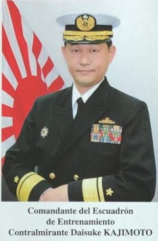 Comandante Daisuke Kajimoto Mazatlán