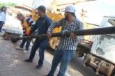 Inicia rehabilitación del alumbrado público de Sinaloa de Leyva