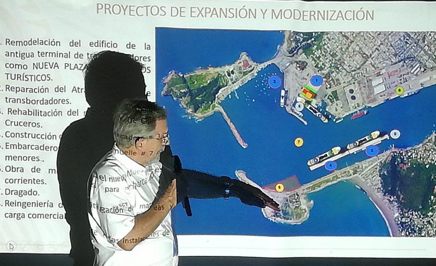 Resultado de imagen de la construcción de una nueva terminal para cruceros en Mazatlán