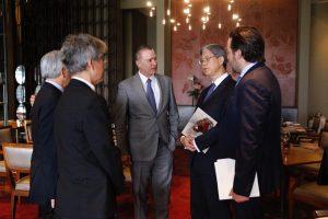 Quirino Ordaz Coppel Gobenrador de SInaloa y Yasushi Takase Embajador de Japón en México 2019 1