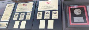 RCI International Otroga los Reconocimientos Golden Crown a El Cid Moro Castilla y Marina 2019