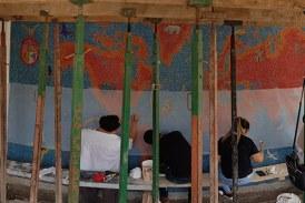 Apoya el ISIC el rescate y traslado del mural del Instituto Chapultepec