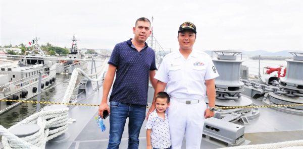 Visita Barcos Armada Japonesa Kashima e Inazuma Visitan Mazatlán 2019 2