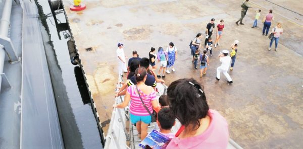 Visita Barcos Armada Japonesa Kashima e Inazuma Visitan Mazatlán 2019 5