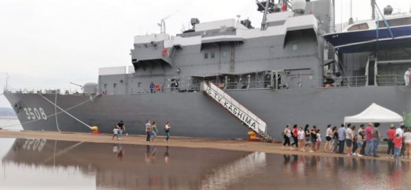 Visita Barcos Armada Japonesa Kashima e Inazuma Visitan Mazatlán 2019