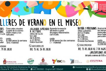 Invita ISIC a inscribirse en los Talleres de Verano