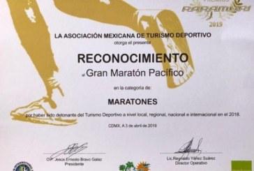 """Gran Maratón Pacífico Mazatlán obtuvo el """"Premio Raramuri"""""""
