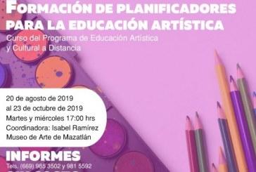 Curso de Formación de  planificadores en educación artística