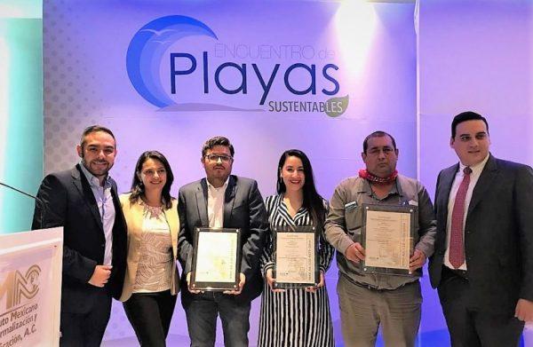 Con las Playa Gaviotas El Verde Camacho Las Glorias Sinaloa se Suma a la Alianza Nacional de Playas Platino 2019