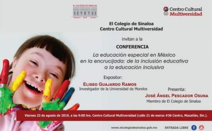 Eliseo Guajardo ofrecerá conferencia