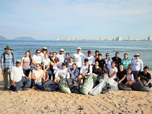 Jornada Limpiez Playa Pinitos Mazatlán 2019 4