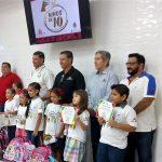 Las Niñas y Niños de 10 de Café El Marino 2019