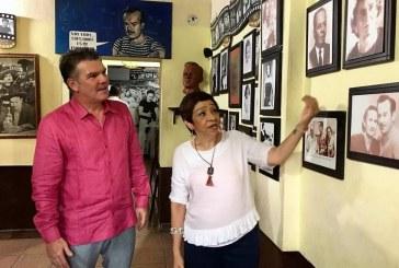 El Museo Rincón de Pedro Infante de Mazatlán es visitado por Óscar Pérez Barros
