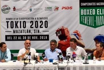 Mazatlán Sede del Torneo Nacional Elite de Box Femenil y Varonil
