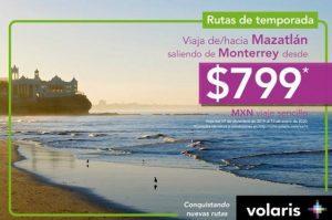 Volaris Monterrey Mazatlán 2019 Nuevo Vuelo 1