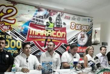 Escuinapa festejará el 104 aniversario de su municipalización con un Maratón deportivo