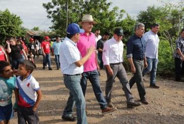 Quirino anuncia obras por 10 mdp en zona afectada por lluvias en El Rosario