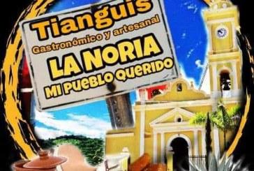 """Primer aniversario del tianguis gastronómico""""La Noria Mi Pueblo Querido""""."""