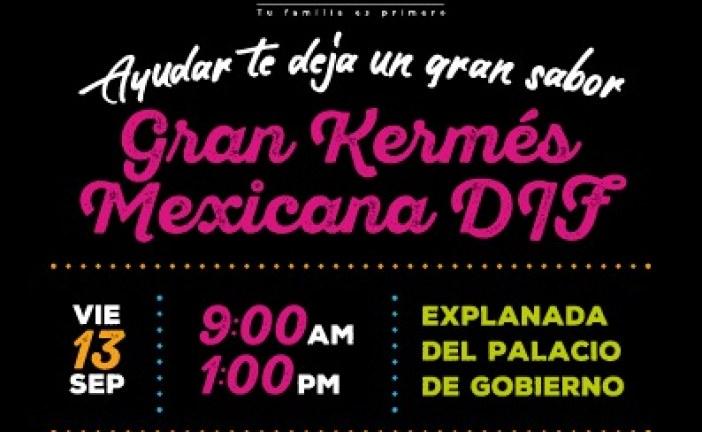 Tradicional Kermés Mexicana que este año será a beneficio del albergue del Hospital Pediátrico de Sinaloa