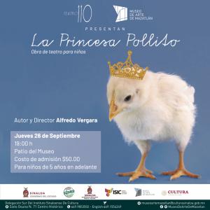 Banner web La princesa pollito - MAZATLÁN