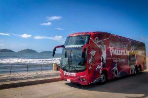 nuevo autobús oficial de los Venados de Mazatlán