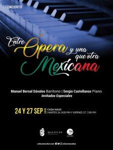 Ópera y una que otra Mexicana