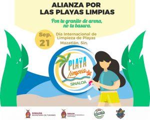 Logo Playas Limpias Sinaloa