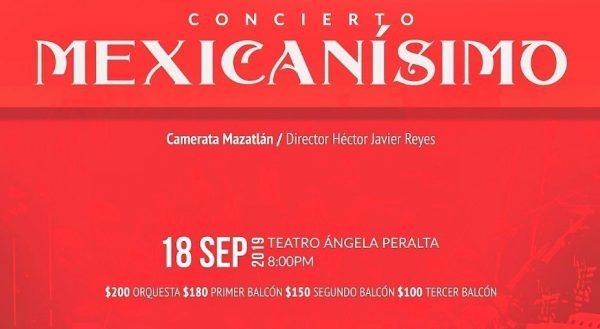 Mexicanísimo Concierto Patrio Camerata Mazatlán 2019 3