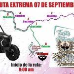 Programa Actividades Festividades Virgen Natividad Cabazán 2019 3a