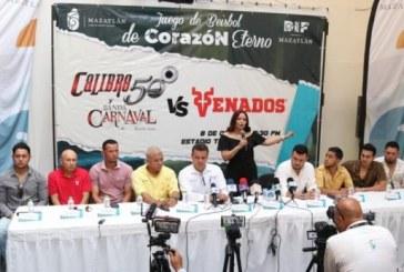 Partido de exhibición en contra de los Venados de Mazatlán